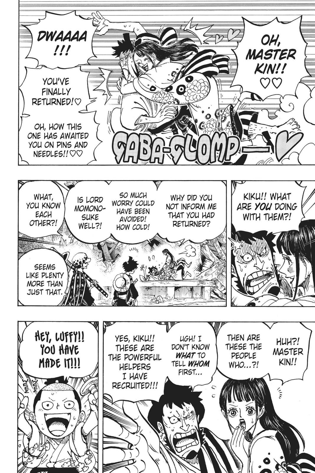 One Piece, Chapter 919 image 013