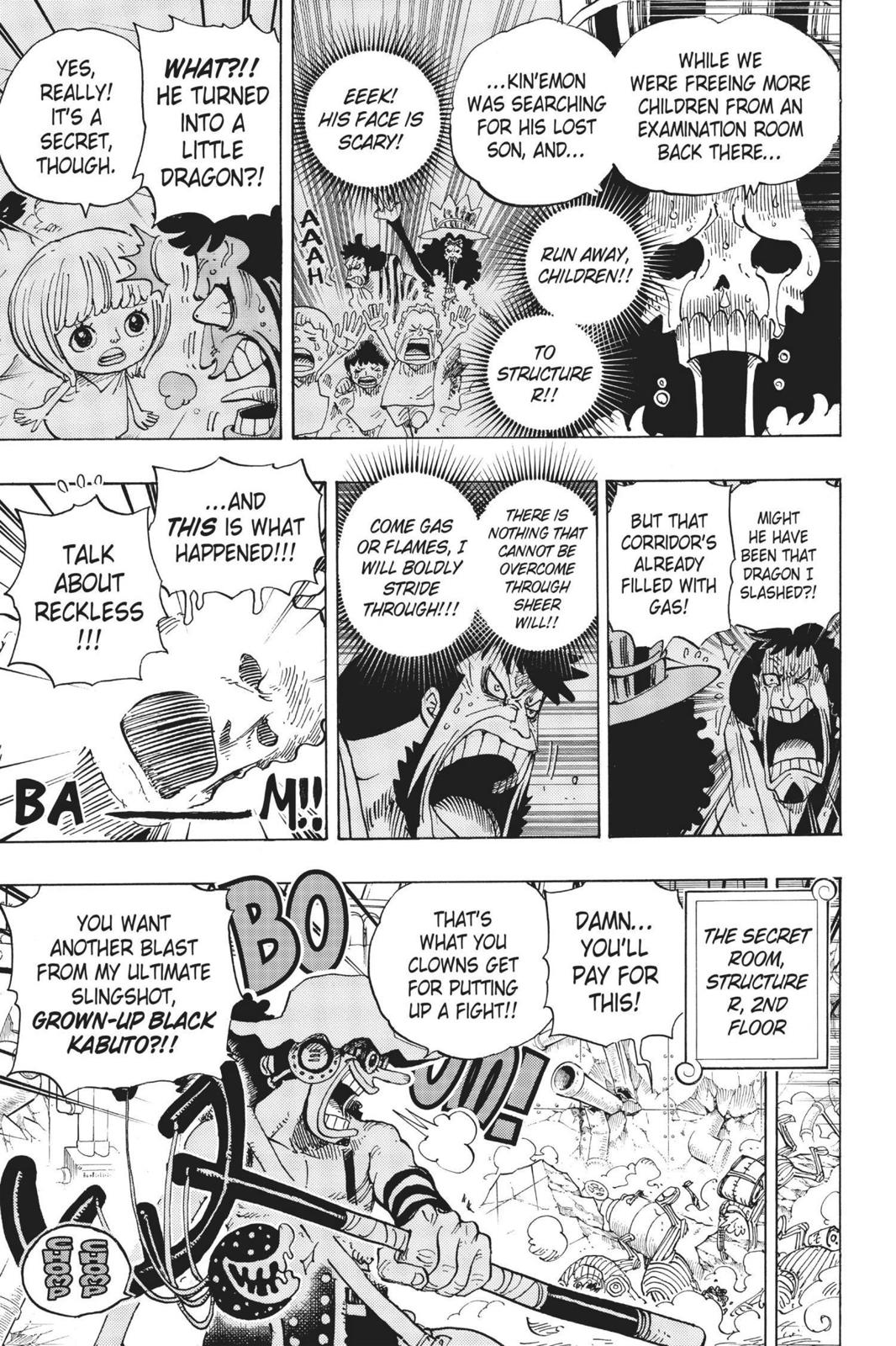 One Piece, Chapter 692 image 008