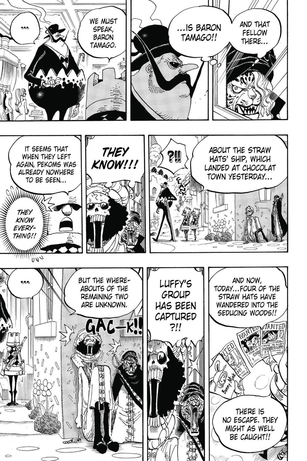 One Piece, Chapter 834 image 007