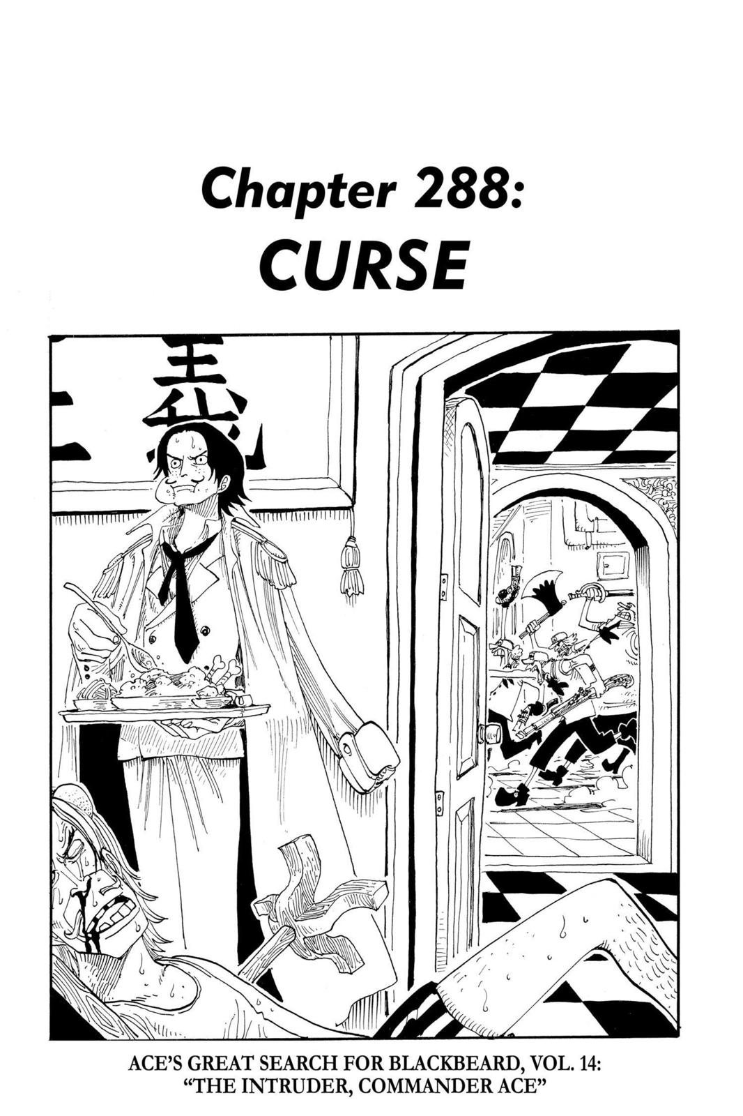 One Piece, Chapter 288 image 001