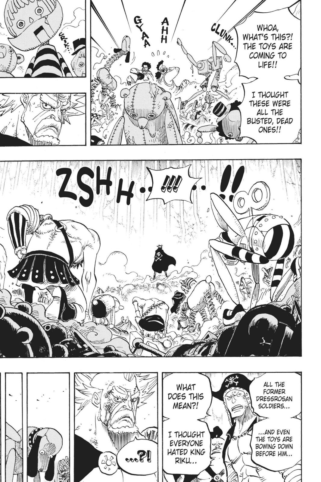 One Piece, Chapter 726 image 009
