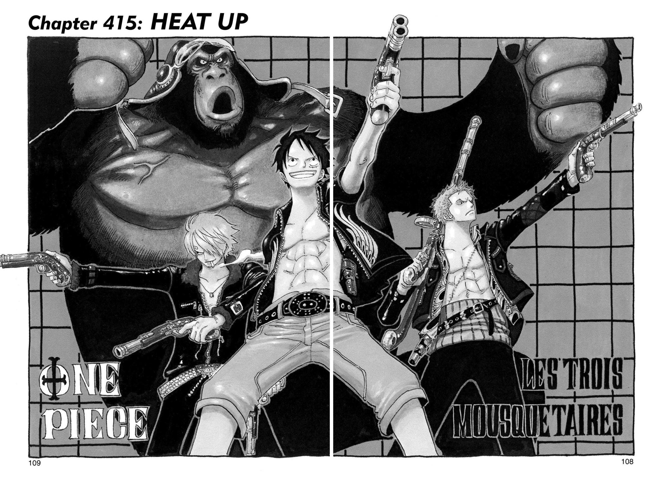 One Piece, Chapter 415 image 001