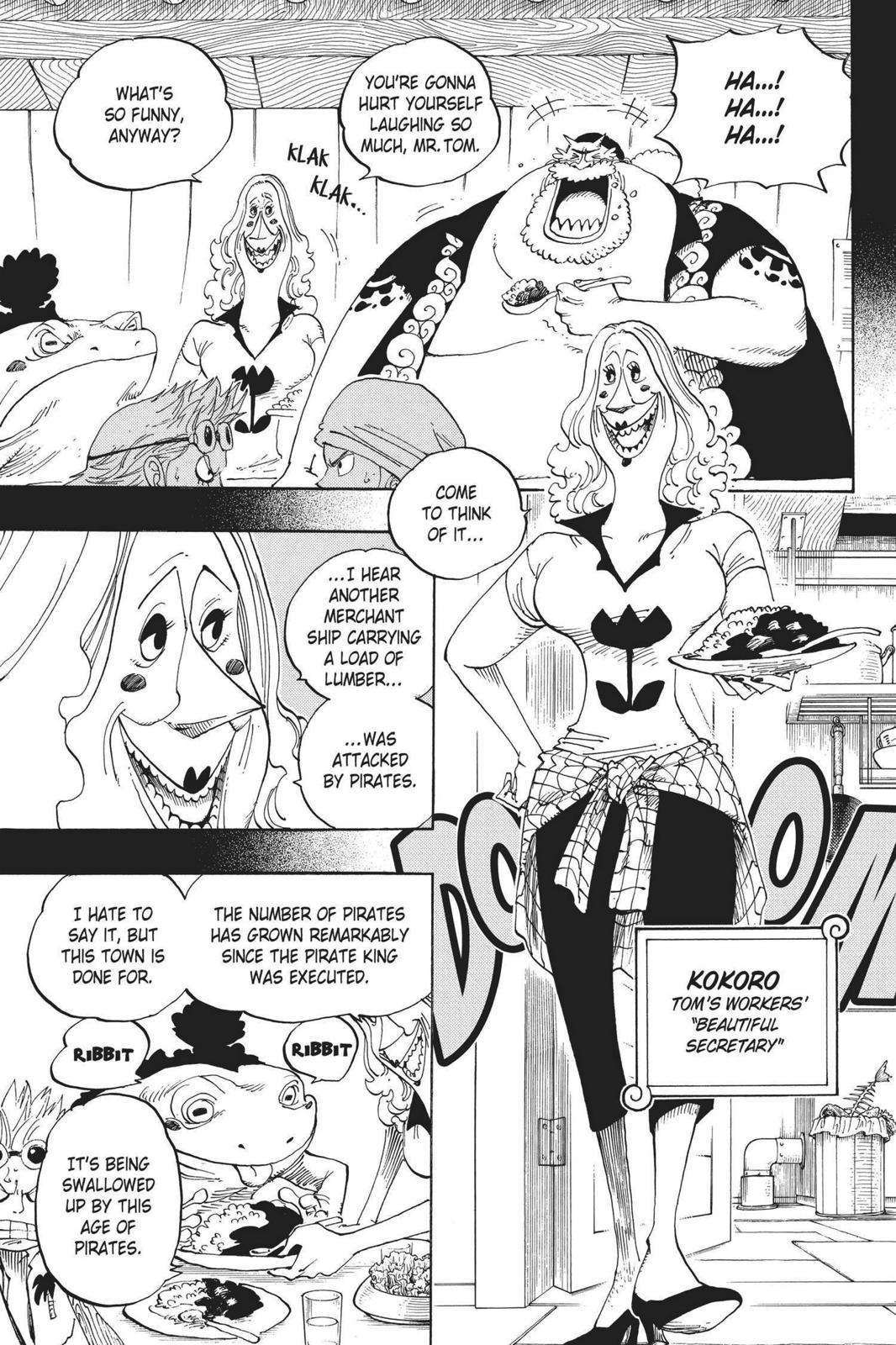 One Piece, Chapter 353 image 015