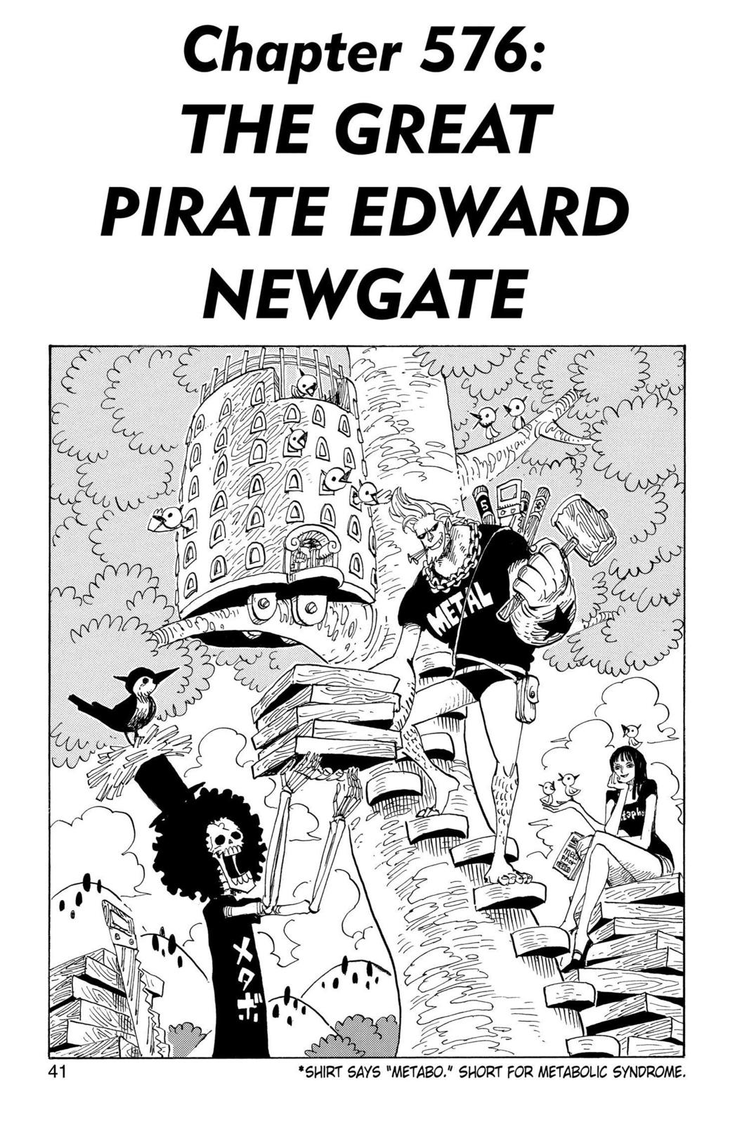 One Piece, Chapter 576 image 001