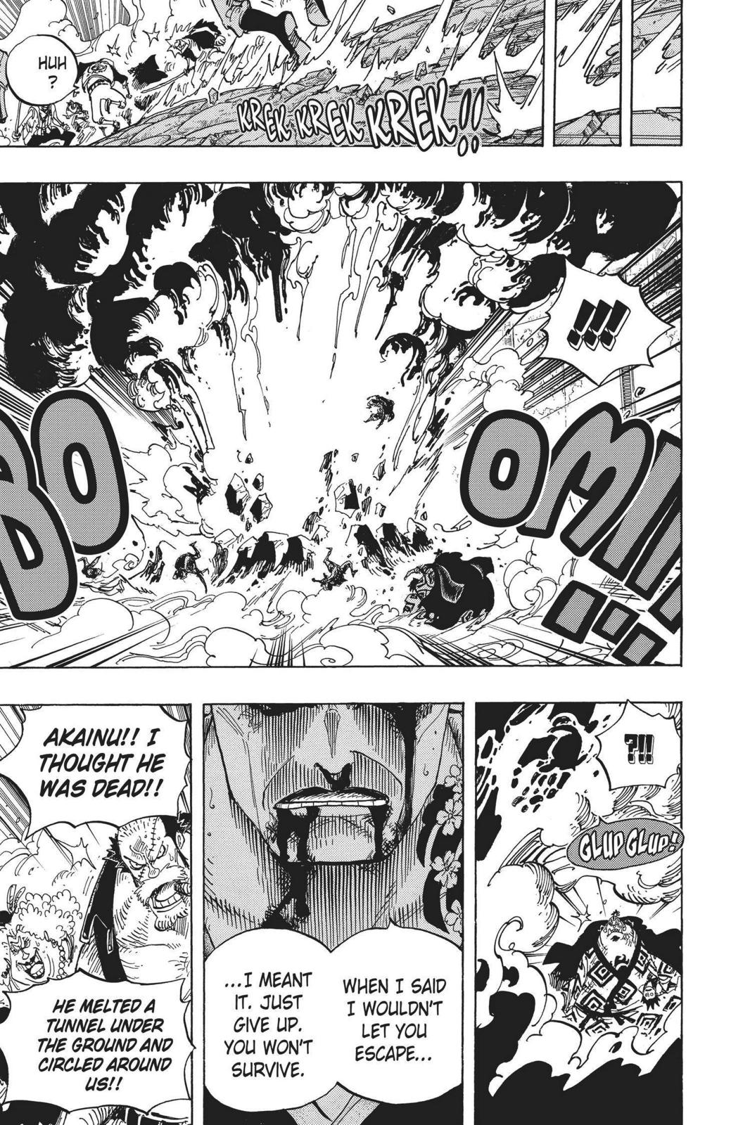 One Piece, Chapter 577 image 009