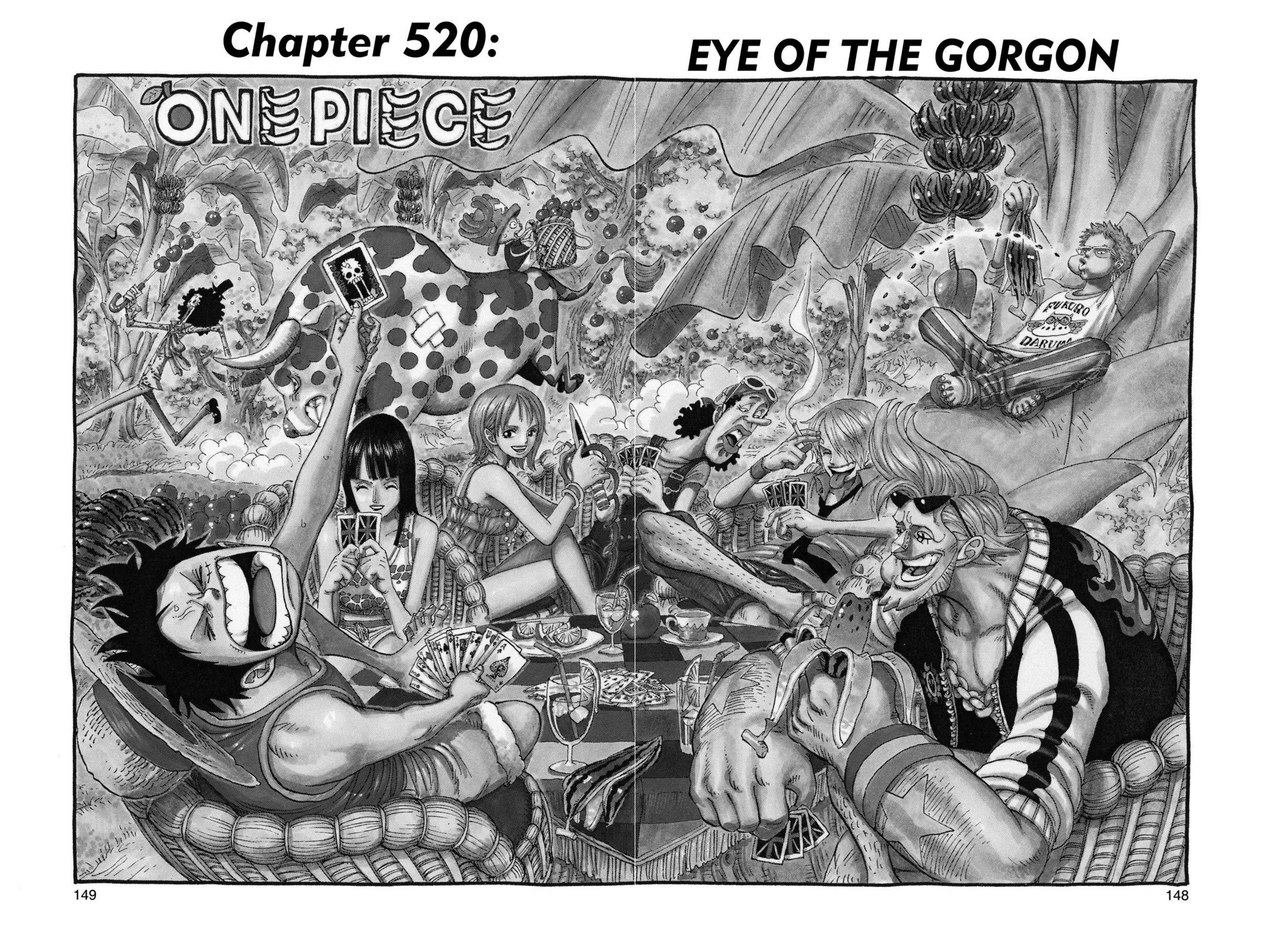 One Piece, Chapter 520 image 001