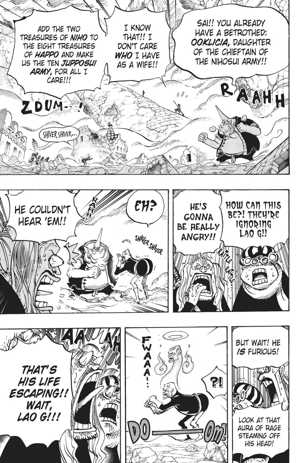 One Piece, Chapter 771 image 007