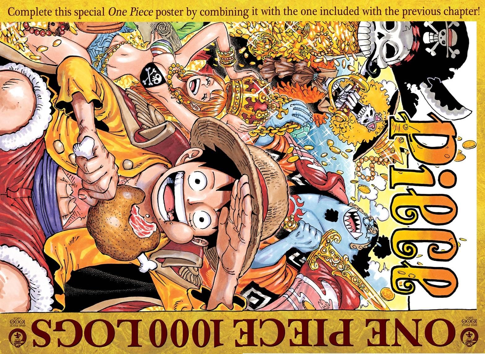 One Piece, Chapter 1000 image 001
