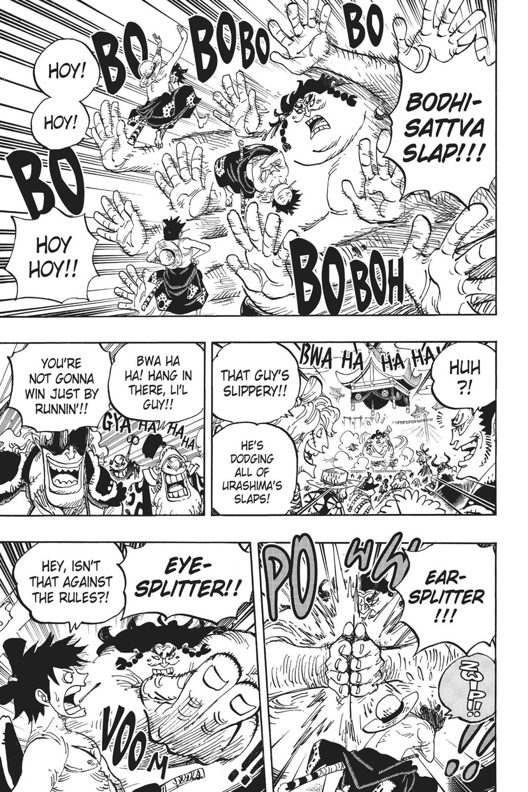 One Piece, Chapter 916 image 009