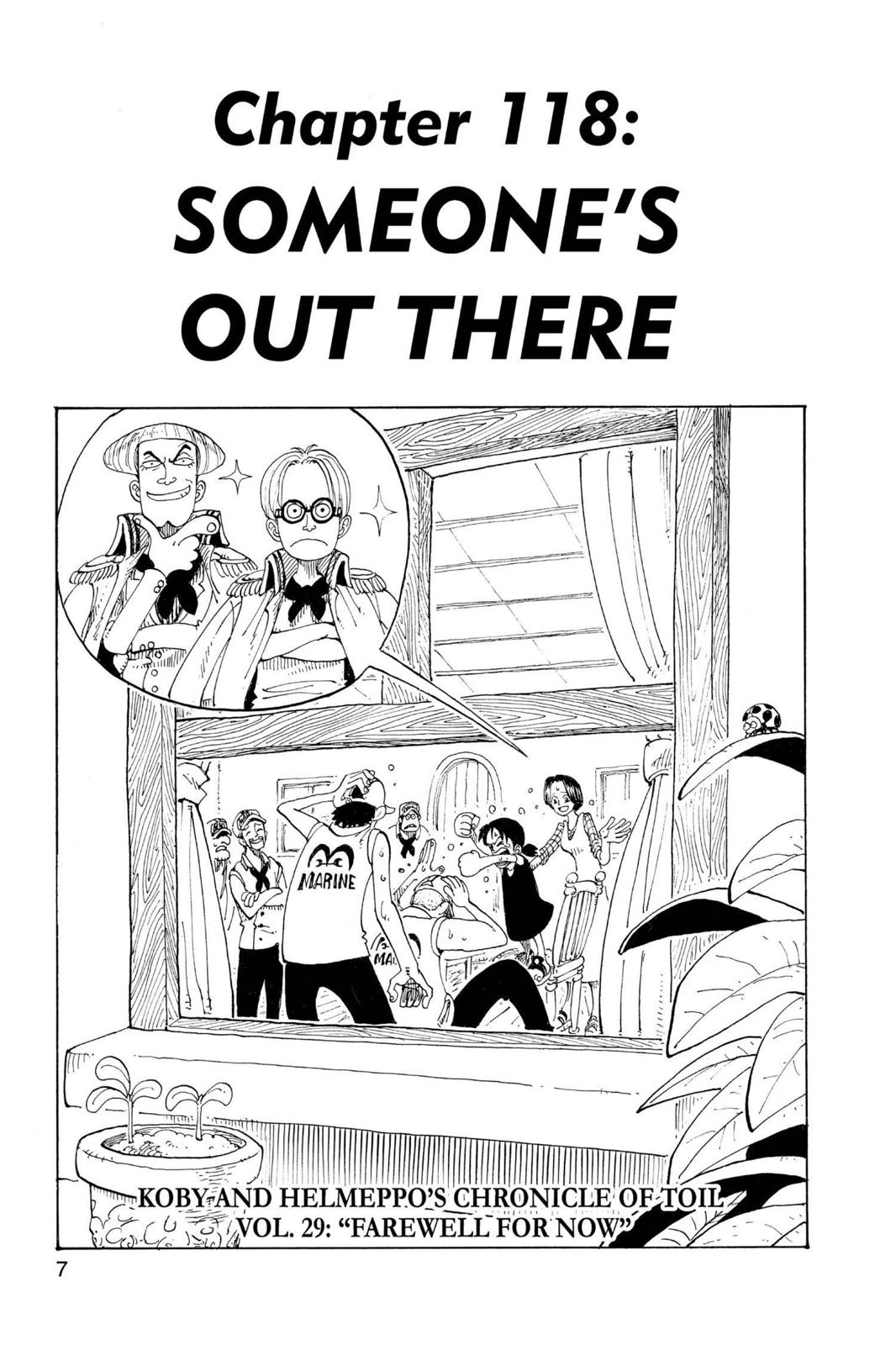 One Piece, Chapter 118 image 008
