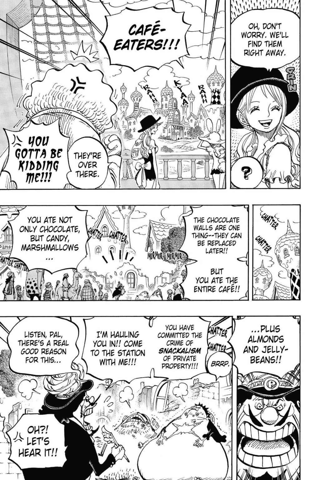 One Piece, Chapter 827 image 007