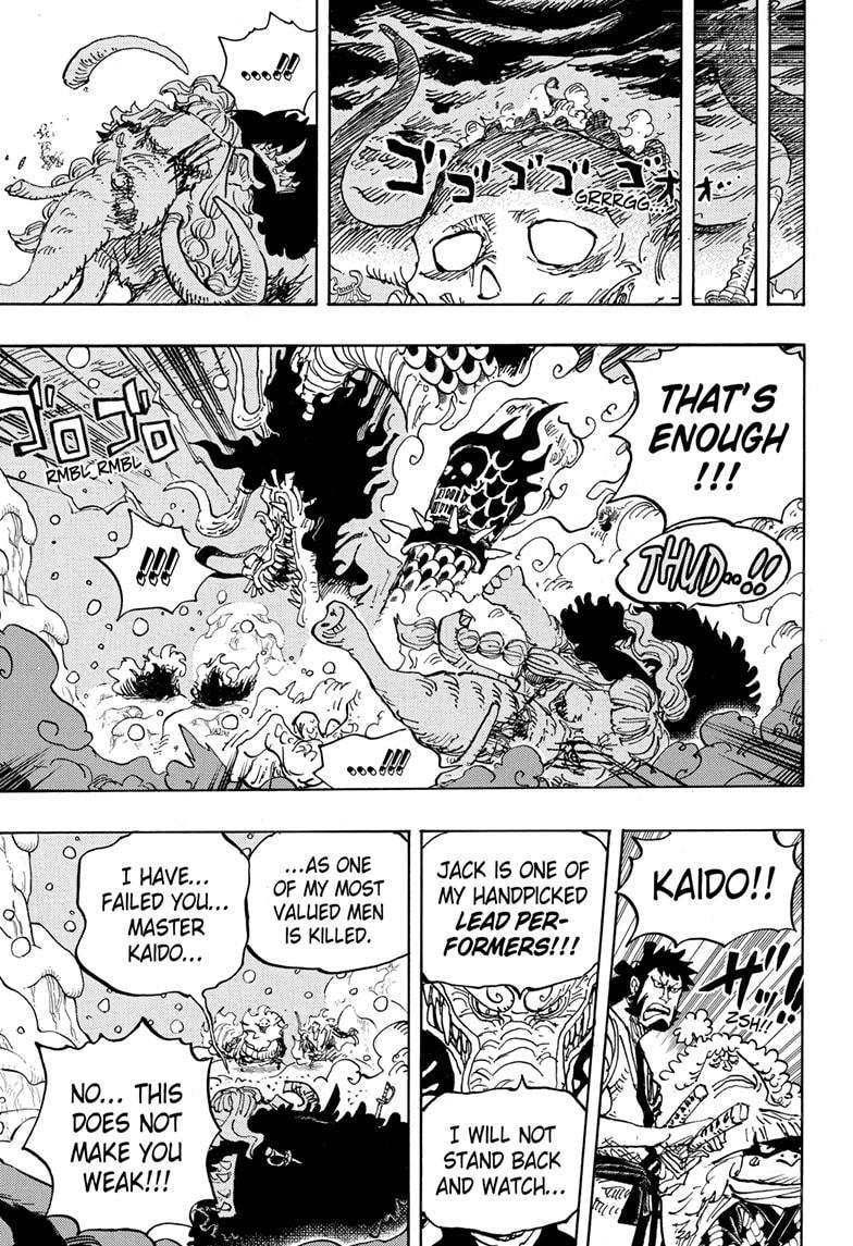 One Piece, Chapter 991 image 013