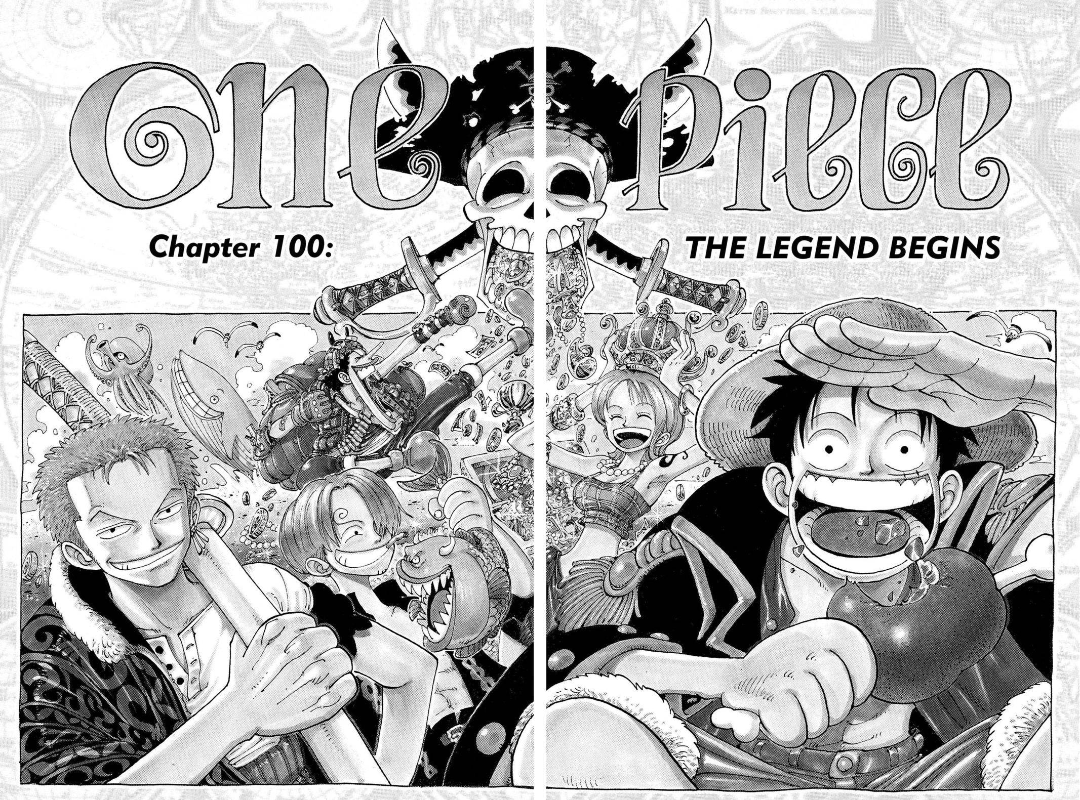 One Piece, Chapter 100 image 009