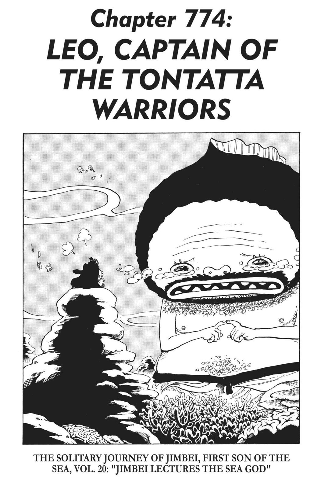 One Piece, Chapter 774 image 001